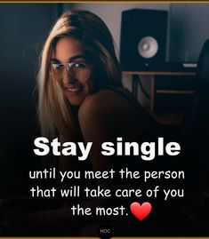 Stay single Best Quotes, Love Quotes, Inspirational Quotes, Single Swag, Leo Traits, Single And Happy, Girly Quotes, Note To Self, True Words