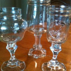 Hillbilly wine glasses