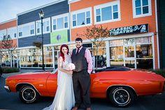 Vintage, Old School Wedding in Grand Falls-Windsor, Newfoundland