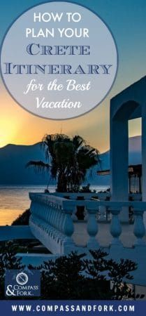How to Plan Your Crete Itinerary for the Best Vacation - where to stay, what to do and practical travel tips for 1,2,3 week vacations. #crete #itinerary #greekislands #greece #traveltips How to Plan Your Crete Itinerary for the Best Vacation https://www.compassandfork.com/how-to-plan-your-crete-itinerary/?utm_campaign=coschedule&utm_source=pinterest&utm_medium=Compass%20and%20Fork-%20Food%20and%20Travel&utm_content=How%20to%20Plan%20Your%20Crete%20Itinerary%20for%20the%20Best%20Vacation