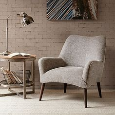 INK+IVY Danielle Accent Chair in Tan