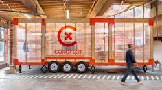 Studio Los Osos vyrobilo mobilní kancelář Coroflot