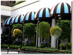 House Awnings On Pinterest Window Awnings Exterior