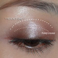 """makeupbox: """" How to use Duos, Trios, Quads, Quintets???! (A few basic shapes that work with all eye shapes) The first thing I always tell people when it comes to eye shadow application is - find your..."""