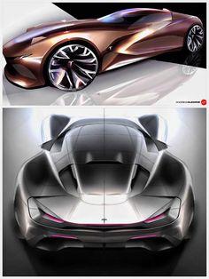 강렬한 휠 디자인 베일 것 같은 사이드의 라인 디자인 그리고 리어뷰는 참고될 만 하다.