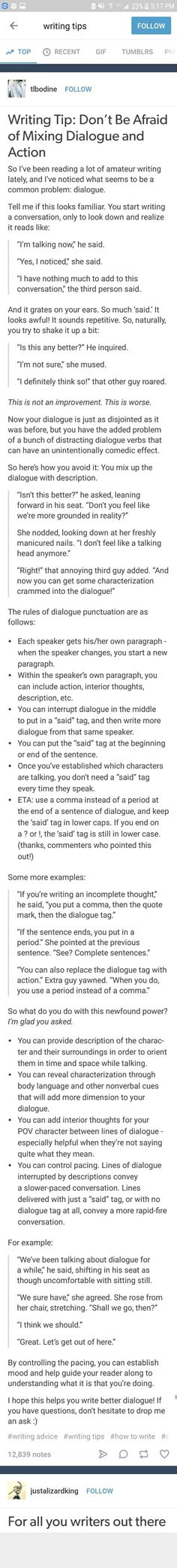 Dialogue got you down? It's actually easier than you think! Check out this quick guide and make your dialogue (and characters) come alive!