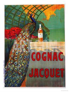 Cognac Jacquet, circa 1930 Art Print by Camille Bouchet at Art.com