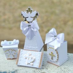 Ideas Bautizo, First Communion Gifts, Baptism Favors, Packing Boxes, Party Favors, Diy And Crafts, Special Occasion, Happy Birthday, Cricut