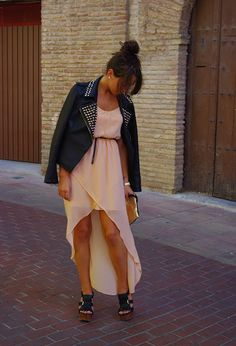 Perfecto  , Zara in Jackets, Zara in Dresses, Stradivarius in Heels / Wedges