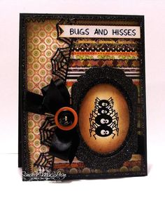 Paper Funtastics: TSG Bugs and Hisses & the new Spider Web Die Blog Hop!!