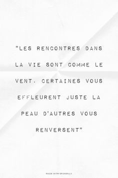 Citation Inspiration Florence Acknin made this. Words Quotes, Me Quotes, Sayings, Motivational Quotes For Life, Inspirational Quotes, Positiv Quotes, French Quotes, Some Words, Beautiful Words