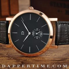 Sleek and elegant like a black panther, #DTpanther adds a touch of class and luxury without breaking the bank.  Shop at DapperTime.com. Free worldwide shipment.  #DapperTime #dapper #menlifestyle #menstyle #mensfashion #menwithclass #menwithstyle #instafashion #gentleman #watches #timepieces #menswatches
