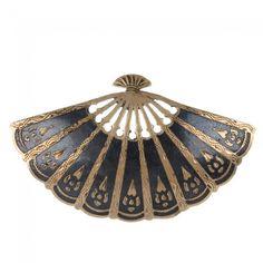Vintage pin hand fan