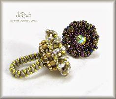 ❤ =^..^= ❤ deEva  - beaded jewelry: GY 126 - Estel 2.