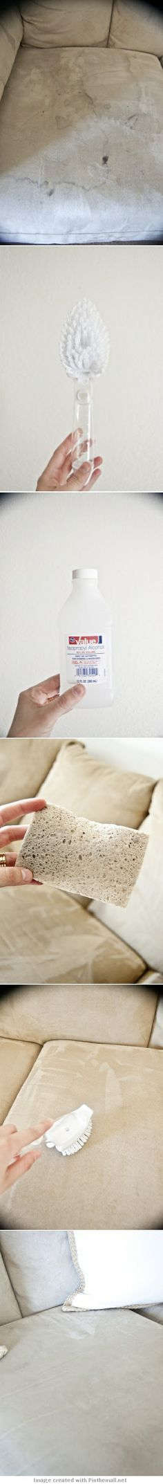 how to get pen stains out of suede couch