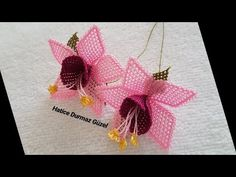 Ribbon Embroidery Tutorial, Basic Embroidery Stitches, Hand Embroidery Flowers, Diy Crochet Bikini, Hand Crochet, Crochet Shawl, Free Crochet, Hat Patterns To Sew, Crochet Circles