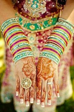 Bangles & henna