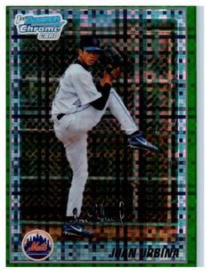 Not Many Of These Left 2010 Bowman Chrom... Get Them Nowhttp://jmcollectibles.org/products/2010-bowman-chrome-juan-urbina-green-refractor-rookie-card-new-york-mets?utm_campaign=social_autopilot&utm_source=pin&utm_medium=pin