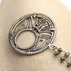 MWEZI necklace by Iza Malczyk 30 only till 20th of by IzaMalczyk, $210.00