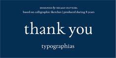 Paciencia - Webfont & Desktop font « MyFonts