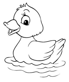 Good Cost-Free duck drawing for kids Thoughts Present kids twenty pieces of report including a field of colors, then there is a high probability they are content cam Belle Coloring Pages, Fruit Coloring Pages, Fish Coloring Page, Preschool Coloring Pages, Easy Coloring Pages, Cartoon Coloring Pages, Animal Coloring Pages, Coloring Books, Free Coloring