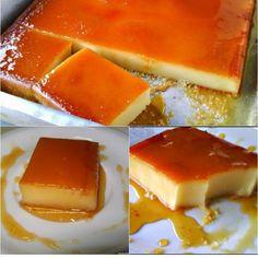 Autêntico pudim de padaria - Manual da Cozinha Sweet Desserts, Sweet Recipes, Pasta Das, Sweet Cakes, Mini Cakes, Easy Cooking, Hot Dog Buns, Cheesecake, Good Food