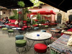 Kind staff and good coffee, interestingly decorated cafe. The interior is a bit dark, but it's kind of romantic. Outdoor Furniture Sets, Outdoor Decor, Bosnia And Herzegovina, Montenegro, Best Coffee, Where To Go, Centre, Oriental, Sweet Home