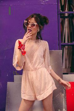 Alissa Salls para Candy Grunge Collection SS17 #estilotova