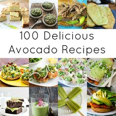 100 Avocado Recipes
