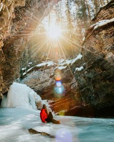 Yesterday's light at Johnston Canyon was amazing. #ExploreAlberta @travelalberta Re-post by Hold With Hope