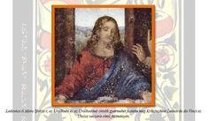 "Lodovico il Moro Sforza, the fifth child of the Empress in painting: Leonardo da Vinci - The Last Supper *** Detail image - ""Diabolical sacrament"" article http://tarotakademia.gportal.hu/gindex.php?pg=35844818"