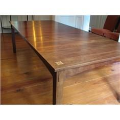 Stunning Stickley Table  With Harvey Ellis Inlay