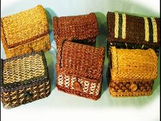 Part 3 of Elena Tischenko's video tutorial of making a square bottom from newspaper tubes. In this lesson the master will show you one more way of weaving a ...