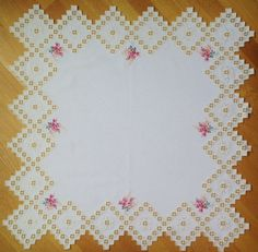 Spring Blossoms  Maral's Hardanger by MaralEmbriodery on Etsy, $100.00