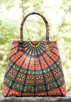 Jhankar Mandala Shoulder Bags. #bag #baggy #boho #carry #bags #shoulder #shopping #tote #ethnic #love #gypsy #soul #Beautiful Made with Best CottonFabric Screen Printed Mandala Bag.Bag closes with a High Quality Magnet Button.  * BagHas Two small Pockets AndA Zipper Pocket Inside For Valuable Things.  *A Perfect Shoulder Bag /Hobo Bag / Hand Bag to give to elegant look. Free Shipping Worldwide.