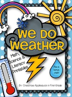 Hi All, I'm linking up again with Leigh over at The Applicious Teacher for her weekly summer linky party. This week the topic is Whol. Teaching Weather, Preschool Weather, Weather Activities, Science Activities, Spring Activities, 1st Grade Science, Kindergarten Science, Teaching Science, Science Education