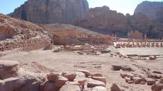 Monumental Forgotten Gardens of Petra Rediscovered After 2,000 Years  read more: http://www.haaretz.com/jewish/archaeology/1.744119