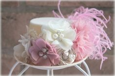 Vintage style Mini Top Hat fascinator, vintage inspired hat, birthday hat, tea party hat, photo prop,kentucky derby hat, great gatsby on Etsy, $25.00