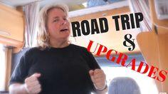 VLOG RV Vacation ROADTRIP in Sweden, UPGRADES in the RV, RV nomad lifest...