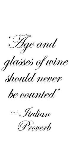 ~Italian Proverb | House of Beccaria#
