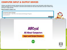 Computer Input/Output Devices