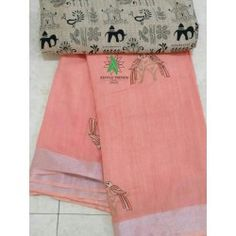 Linen cotton embroidery sarees with tussar blouse Embroidery Saree, Saree Dress, Saree Blouse Designs, Cotton Thread, Sarees, Arts And Crafts, India, Casual, Shopping