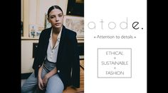 """Buy Less but Better"". The first minimalist wardrobe which propose ethical and fashionable collection for women"