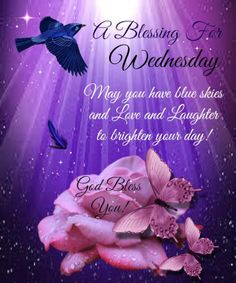 Blessing for Wednesday
