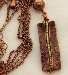 Copper Pendants : Photo