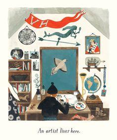 Home by Carson Ellis | tygertale.