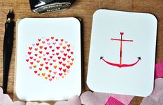 Set of 5 Valentines