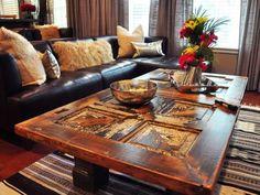 door coffee table ... wow, beautiful !