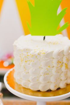 Fox + Pineapple themed birthday party via Kara's Party Ideas KarasPartyIdeas.com Cake, decor, supplies, cupcakes, food, and more! #foxparty #pineappleparty #firstbirthdayparty #foxpartyideas (22)