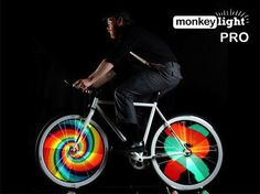 Monkey Light Pro makes your bike safer and geekier than ever, but at a price